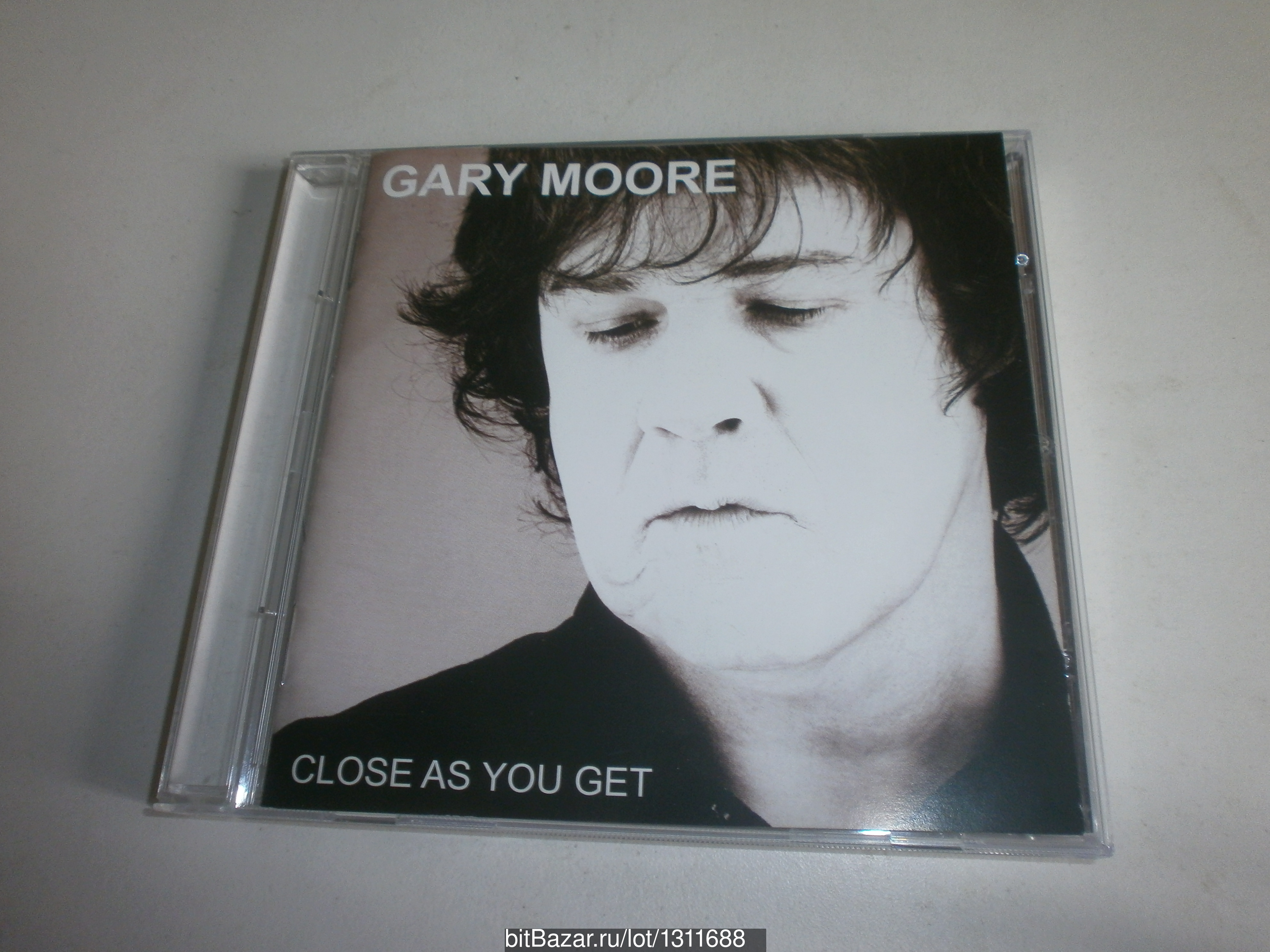 GARY MOORE CLOSE AS YOU GET LP Made in USA IFPI