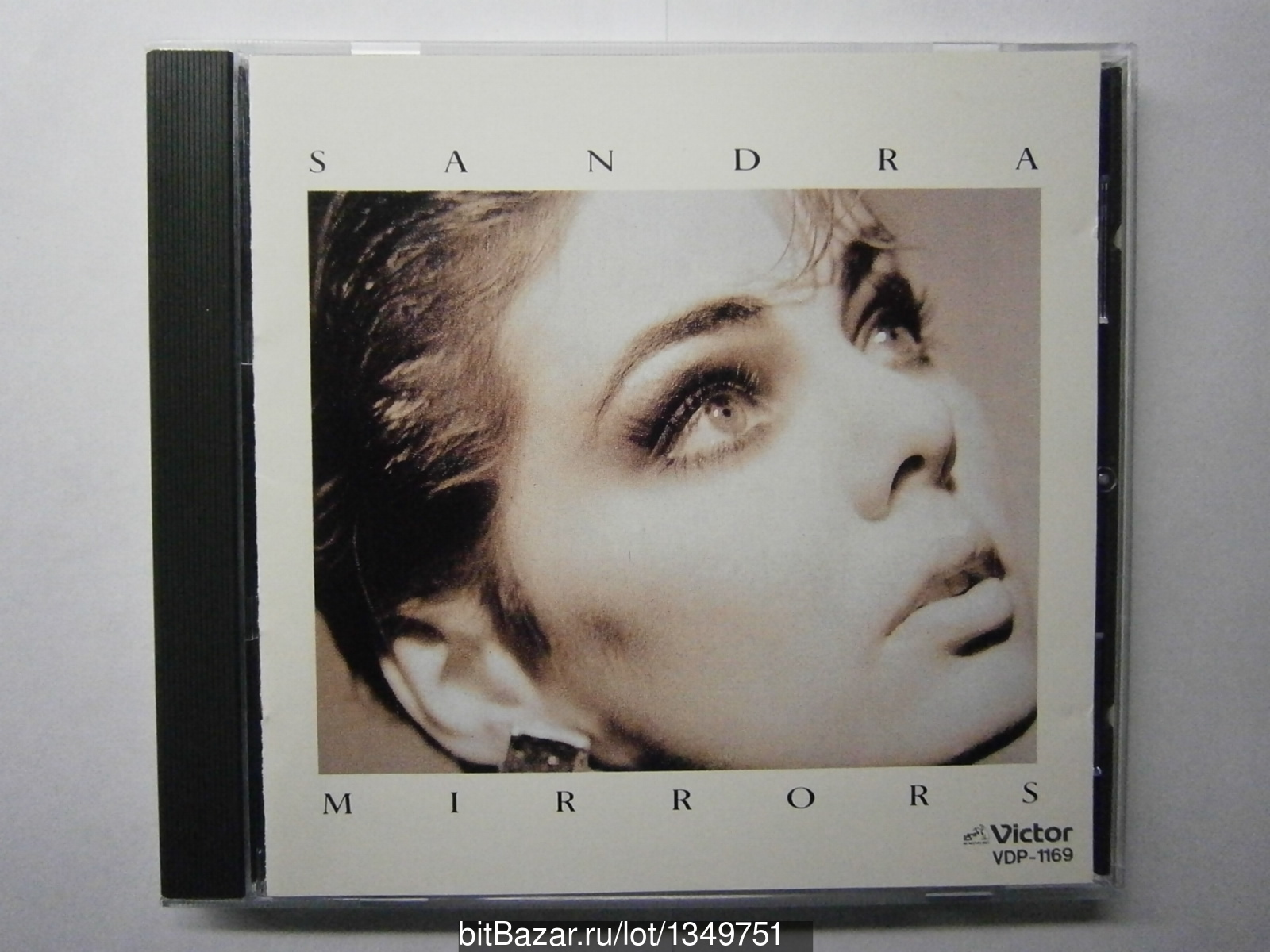 CD SANDRA - MIRRORS (JAPAN NO OBI) arabesque
