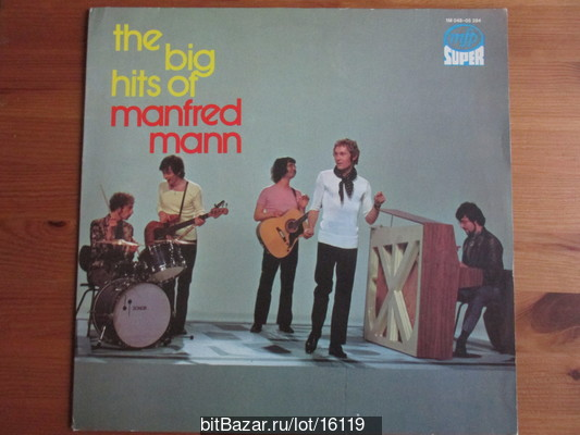 MANFRED MANN (beat, R&B). The Big Hits Of Manfred Mann. 1975