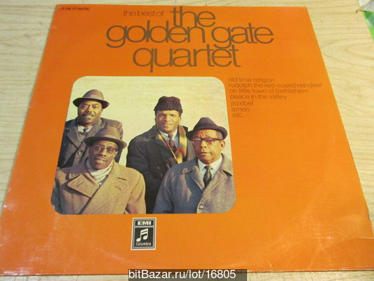 GOLDEN GADE QUARTET (Spirituals). The Best Of (2LP).