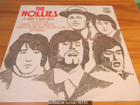 HOLLIES (beat). I Can`t Let Go. 1966