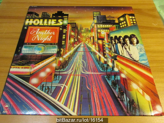 HOLLIES (beat, Pop rock). Another Night. 1975