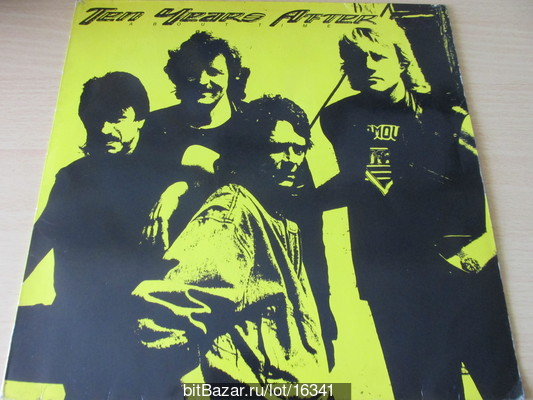 TEN YEARS AFTER (bluesrock). About Time. 1989
