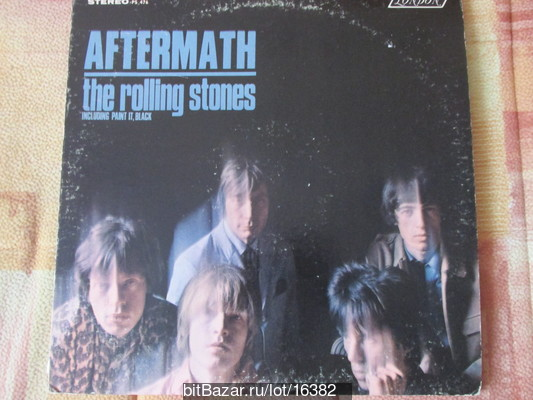 ROLLING STONES. Aftermath. 1966