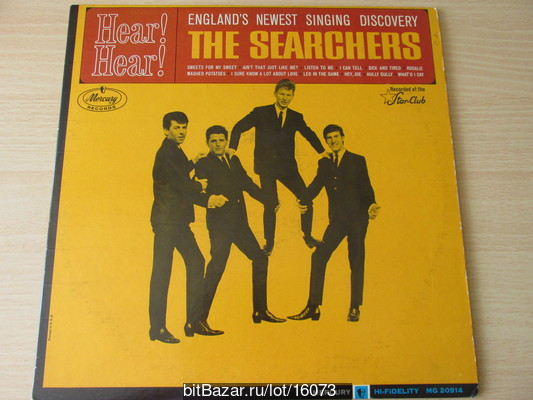 SEARCHERS (beat). Hear! Hear! (Recorded at the Star-Club) 1964