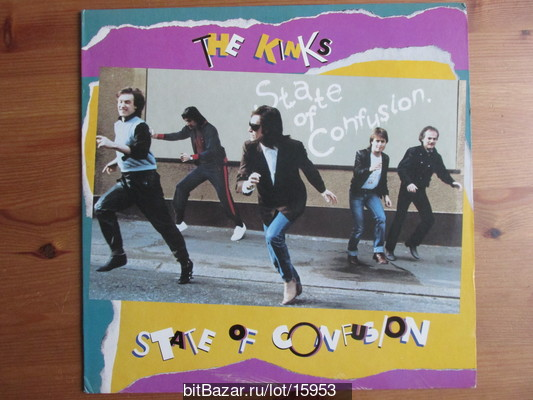 KINKS (beat). State Of Confusion. 1983